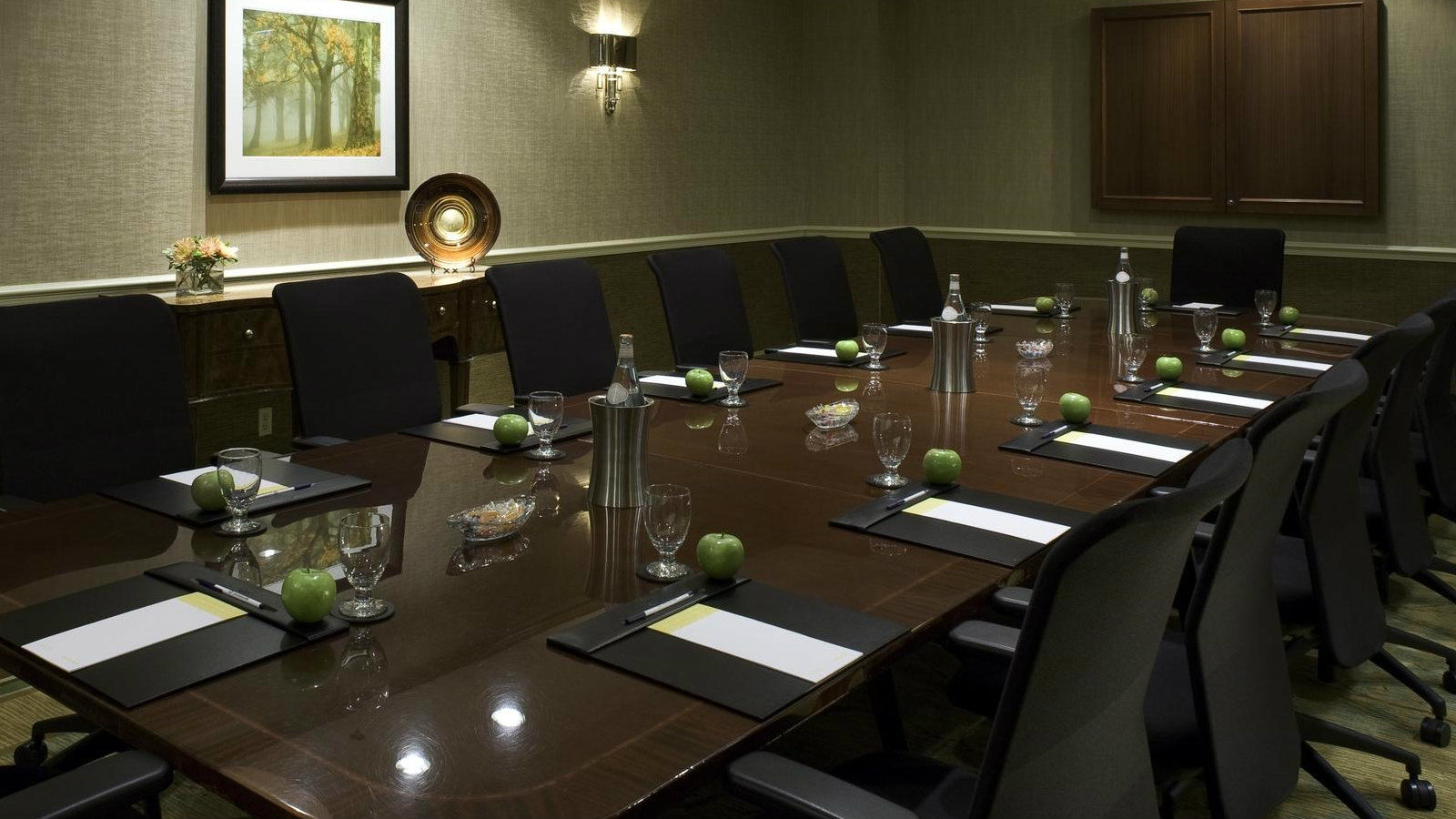 Alexandria Meetings | Sheraton Suites Old Town Alexandria - Executive Boardroom